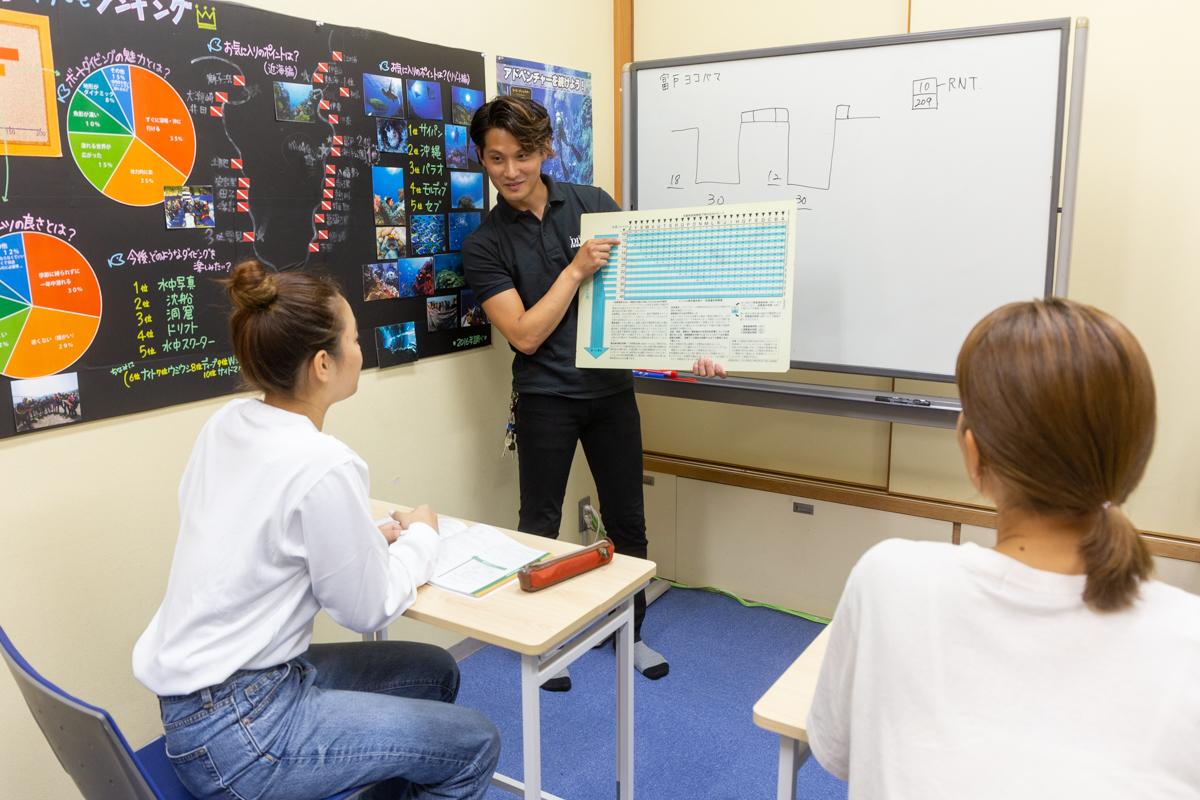 東京 ダイビングライセンス 取得の流れ3 学科講習